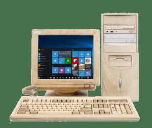 Нужен ли ремонт старого компьютера?